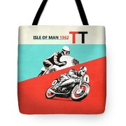 The Vintage Isle Of Man Tt Tote Bag