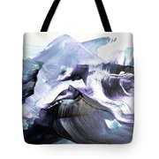 Glacier Mountains Tote Bag