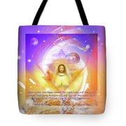 Prayer Blessing Tote Bag