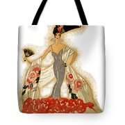 Elegant Woman Tote Bag