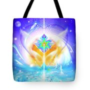 Blissful Heart Tote Bag