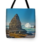 Rock Stack On The Costa Viicentina, Portugal Tote Bag
