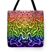 Interwoven Twisted Vines Of Life Tote Bag