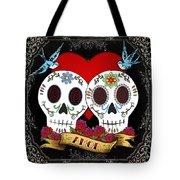 Love Skulls II Tote Bag