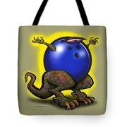 Bowling Beast Tote Bag