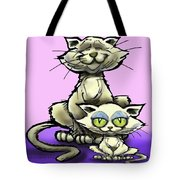 Cat N Kitten Tote Bag