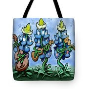 Blues Bonnets Tote Bag