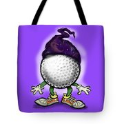 Golf Wizard Tote Bag