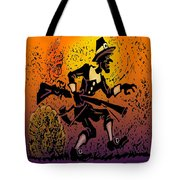 Thanksgiving Pilgrim Tote Bag