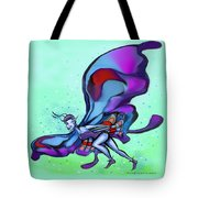 Blue Faerie Tote Bag