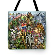 All Creatures Great Small Tote Bag