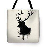 Elk Tote Bag by Nicklas Gustafsson