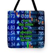 Stock Exchange Tote Bag by Anastasiya Malakhova