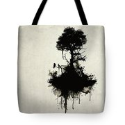 Last Tree Standing Tote Bag by Nicklas Gustafsson