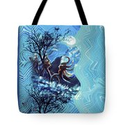 Love For Moon Light Tote Bag