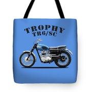 Triumph Trophy Tr6 Tote Bag