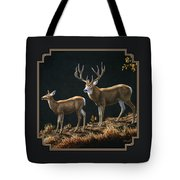Mule Deer Ridge Tote Bag