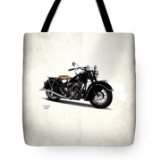 Indian Chief 1946 Tote Bag