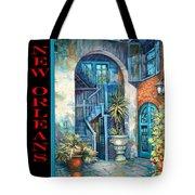 Brulatour Courtyard Tote Bag