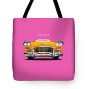 Checker Cab Tote Bag