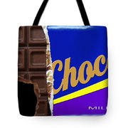 Chocolate Case Tote Bag