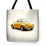 Vw Beetle 1972 Tote Bag