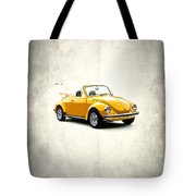 Vw Beetle 1972 Tote Bag