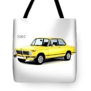 Bmw 2002 Tote Bag by Mark Rogan