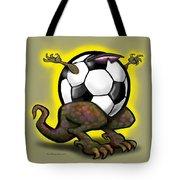 Soccer Saurus Rex Tote Bag