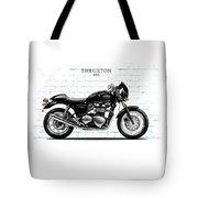 Triumph Thruxton 900 Tote Bag