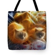 Cuddle Buddies Tote Bag