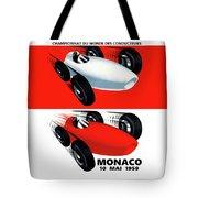 Monaco 1959 Tote Bag
