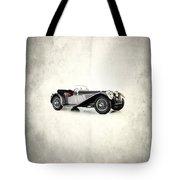 Jaguar Ss100 1936 Tote Bag by Mark Rogan