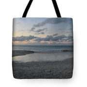Aruba Beach At Dusk Tote Bag