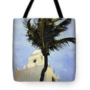 Aruba Palm Tote Bag