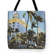 Aruba Palms Two Tote Bag