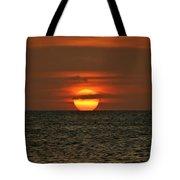 Arubian Sunset Tote Bag