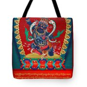 Arya Achala - Immovable One - Center Image Tote Bag