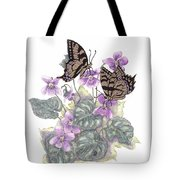 As Close To The Flowers Tote Bag