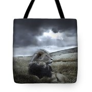 As Darkness Fades Tote Bag