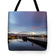 As Day Turns To Night Tote Bag