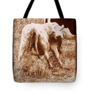 As I Look Back Tote Bag