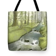 As I Sat By A Brook And Pondered Tote Bag