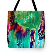 As The Colors Blend.. Tote Bag