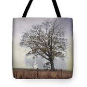 As The Fog Sets In Tote Bag