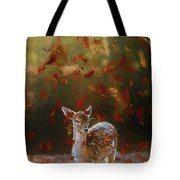 As The Leaves Fall - Painting Tote Bag