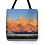 As The Sun Rises Tote Bag
