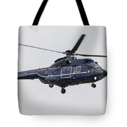 As332 Super Puma Helicopter Tote Bag
