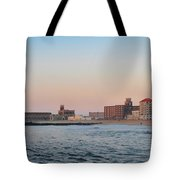 Asbury Park Boardwalk From The Beach Tote Bag