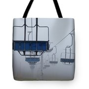 Ascent From The Mist Tote Bag